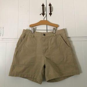 Patagonia khaki shorts